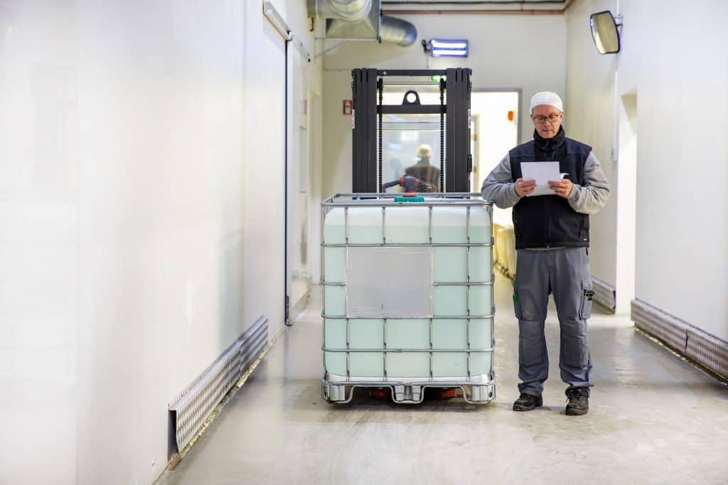 IBC dunkar förpackning
